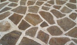 Trajeto pavimentado pedra Imagem de Stock