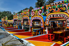 Trajineras de Xochimilco στοκ φωτογραφίες