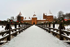 Traka Castle Royalty Free Stock Photo