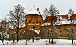 Traka Castle Royalty Free Stock Photo