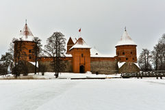 Traka Castle Stock Image
