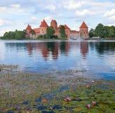 Trakai城堡,立陶宛 免版税图库摄影
