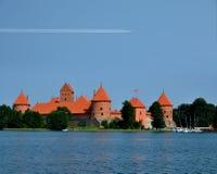 Trakai城堡 免版税图库摄影
