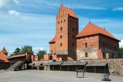 Trakai城堡 库存图片