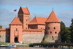 Trakai海岛城堡 免版税库存照片