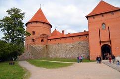 Trakai海岛城堡 库存图片