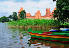 trakai замока Стоковое Фото