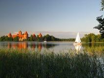 trakai Литвы замока Стоковые Фотографии RF