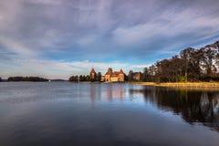 trakai Литвы замока стоковое фото