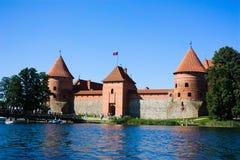 trakai Литвы замока Стоковое Изображение RF