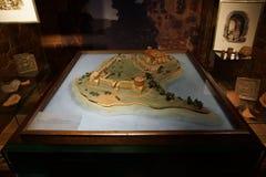 trakai Литвы озера замока Стоковое фото RF