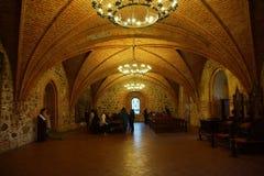 trakai Литвы озера замока Стоковые Фото