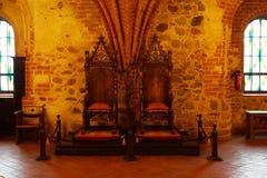 trakai Литвы озера замока Стоковая Фотография