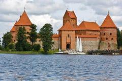 Trakai fotografía de archivo libre de regalías
