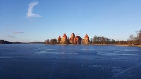 Trakai stock afbeelding
