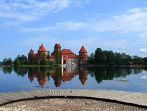 Trakai Stockfotos