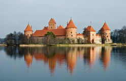 Trakai castle. Medieval castle in Trakai, Lithuania Royalty Free Stock Photography