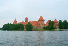Trakai castle Stock Photography