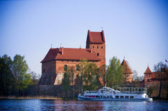 Trakai castle Royalty Free Stock Images