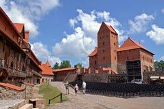 Trakai Castle. Beautiful location close to Vilnius, Lithuania Stock Images