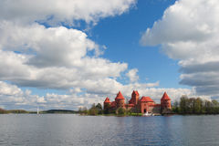 Trakai castle. In Litua Vilnius, Middle Ages Royalty Free Stock Photography