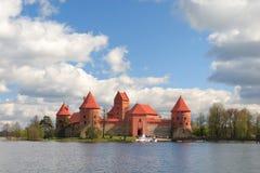 Trakai castle. In Litua Vilnius, Middle Ages Stock Photos