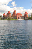Trakai castle. In Litua Vilnius, Middle Ages Royalty Free Stock Image