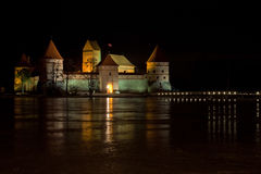 Trakai castle Stock Image