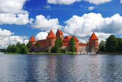 Trakai castle Stock Images