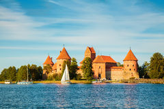 Trakai castle Royalty Free Stock Photography