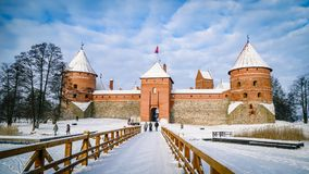 Trakai Castle Fort Lithuania Eastern Europe royalty free stock image