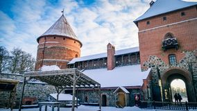 Trakai Castle Fort Lithuania Eastern Europe Royalty Free Stock Images