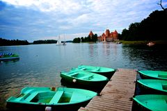 Trakai Royalty Free Stock Images