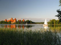 Trakai castle, Lithuania Royalty Free Stock Photos