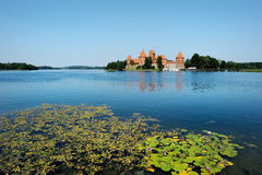 Trakai castle of Lithuania Stock Images