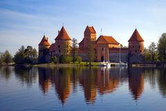 Trakai castle in Lithuania Royalty Free Stock Photos