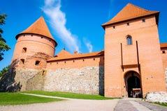 Trakai Castle, Lithuania. Entrance of  Trakai Castle near Vilnius Stock Photography
