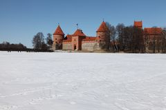 Trakai castle Royalty Free Stock Photos