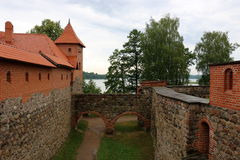 Trakai castle in Lithuania Stock Images