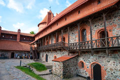Trakai castle, Lithuania Royalty Free Stock Photo