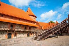 Trakai castle, Lithuania Stock Images