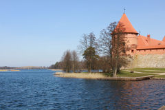 Trakai castle, Lithuania. Situated not far from Vilnius, Trakai is an ancient capital of the Grand Duchy of Lithuania Royalty Free Stock Images