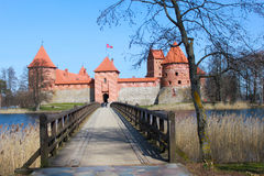 Trakai castle, Lithuania. Situated not far from Vilnius, Trakai is an ancient capital of the Grand Duchy of Lithuania Royalty Free Stock Photos
