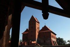 Trakai Castle near Vilnius in Lithuania. Royalty Free Stock Photos