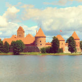Trakai Castle near Vilnius in Lithuania Royalty Free Stock Photo