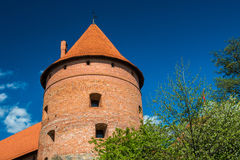 Trakai castle Stock Photos