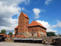 Trakai castle Traku pilis in Lithuania near Vilnius Stock Images