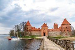Trakai Castle View Royalty Free Stock Photo