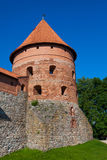 Trakai Insel-Schloss Stockfoto