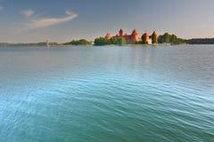 Trakai Insel-Schloss Trakai litauen lizenzfreies stockbild